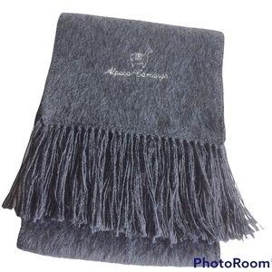 ALPACA Grey Winter Soft Scarf